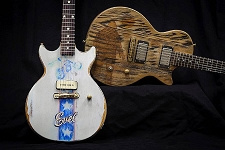 By Chad C -- Custom Evel Kneival Slick Guitar