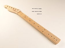 Tele® Style Maple LEFTY Neck for Bolt On Bodies 22 fret