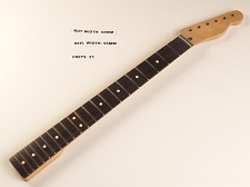 Tele® Style Rosewood Neck for Bolt On Bodies 21 fret