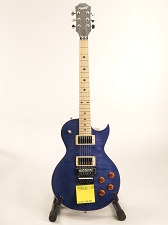 BLEM XV555 Double Locking Tremolo Flamed Maple LP Rich Indigo