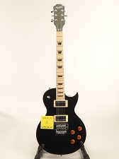BLEM XV555 Double Locking Tremolo Maple Top LP Gloss Black
