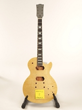 BLEM Glued-In Neck, Quilt Top, LP Style- Fully Assembled and Finished - Clear Gloss  (COPY)