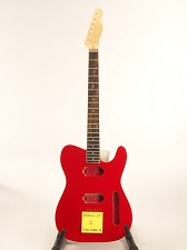 BLEM BOUND Rocket Red Tele® Style GLUED-IN Setneck, 2 Humbucker Rosewood F/B