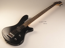 Black Pbass Bass Rosewood Fret board 24 Fret  As Is Guitar