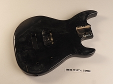 Black Dinky Jr Style Body Single Humbucker