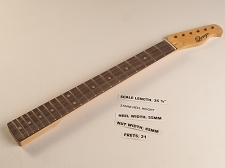 Single Cutaway Style Rosewood 21 Fret Neck
