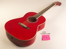 Red Jr Style Guitar Rosewood Fretboard 20 Fret