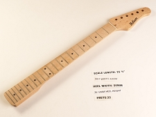 Double Cutaway Maple 22 Fret Neck