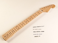 Double Cutaway Maple 21 Fret Neck