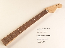 Double Cutaway Rosewood 21 Fret Neck