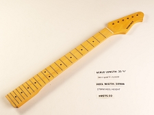 Double Cutaway Style Amber Maple 22 Fret Neck