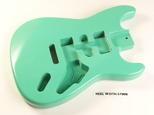 Surf Green Double Cutaway Style Body H/S/H Vintage Trem Rout
