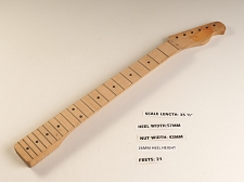 Single Cutaway Maple 21 Fret Neck - Slightly Twisted