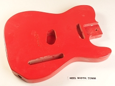 Red Single Cutaway Style Body 2SC