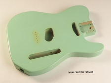 Surf Green Single Cutaway Style Body 2SC