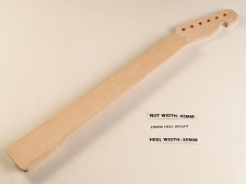 Fretless Single Cutaway Style Maple Fretboard