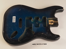 Blue Burst Double Cutaway Style Body H/S/S Vintage Style Trem Rout