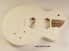 Aged White Single Cutaway Style Body 2HB