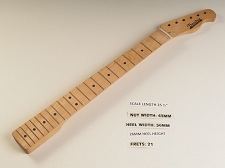 Single Cutaway Maple 21 Fret Neck