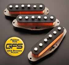 '64 Stagger Texas Grey Bottom Surf/Blues Pickups - Kwikplug™ Ready