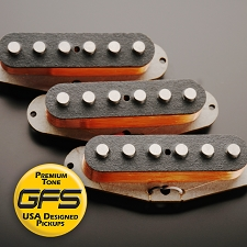KP - 60's-70's Grey Bottom Non Stagger Overwound Strat - MAX Power!! - Kwikplug™ Ready