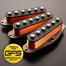 60's-70's Grey Bottom Non Stagger, Fits Strat® - More Power!! More Tone!! - Kwikplug™ Ready