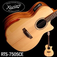 Zebrawood Xaviere ALL WOOD Premium Acoustic/electric Cutaway Solid Spruce Top
