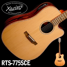 Laurel Negro CEDAR Top Dreadnaught Xaviere cutaway Acoustic/Electric