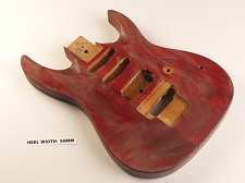 Solid Ash HSS Ibanez Style Body cut for Floyd Rose