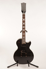 BLEM Glued-In Neck LP Style- Fully Assembled and Finished- Gloss Black