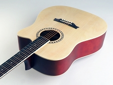 SPECIAL PURCHASE- Brand New Dreadnought Acoustic Cutaway-Natural Blonde Finish