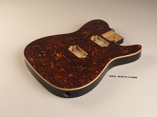 Mother of Pearl Tele® Body 2 Humbuckers Tortoiseshell Celluloid, Cream Binding - Blemished