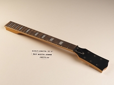 BLEM LP Style Mahogany Neck, rosewood fingerboard. Trapezoid Inlays. Clear Gloss