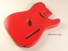 Lightweight Vintage Single-Cutaway Body Fiesta Red - Blemished