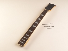 BLEM LP Style Maple Neck, rosewood fingerboard. Trapezoid Inlays. Clear Gloss