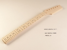 BLEM XGP Professional Single-Cutaway Style Neck Maple Fingerboard Unfinished Paddle Headstock