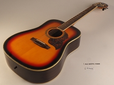 BLEM - XV_180S Sunburst Solid Spruce Top Rosewood back and sides with Binding