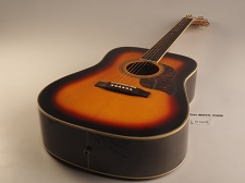 BLEM XV_130S - Sunburst Solid Spruce Top Mahogany back and sides with Binding