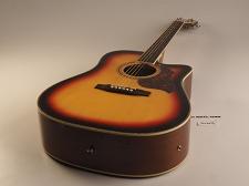 BLEM XV_130SCE - Cutaway Acoustic-Electric, Solid Spruce Top, Mahogony back and sides