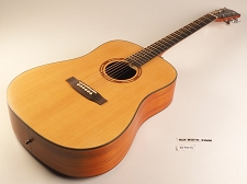 BLEM - Xaviere ALL WOOD Dreadnaught Solid Spruce Top Zebrawood