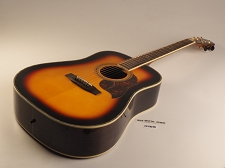 BLEM - XV_580 - SUNBURST! Solid Spruce Top Solid Rosewood Back and Sides with Binding