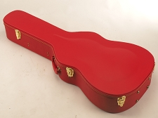 BLEM - PREMIUM RED Hardshell Case fits Dreadnaught PLUSH- OUR BEST!
