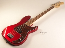 Discontinued - PB Bass Alder Body Maple Neck Candy Apple Red Rosewood Fingerboard