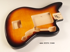 Blem - XGP Professional Offset Body Flamed Maple Top Vintage Sunburst