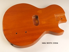 Blem - LP Special Body- SOLID Mahogany- Bolt On Korina FInish