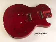 Blem - LP Special Body- SOLID Mahogany- Bolt On Vintage Cherry