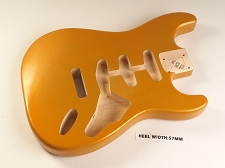 Blem - XGP Professional Double Cutaway Body Aztec Gold Metalflake