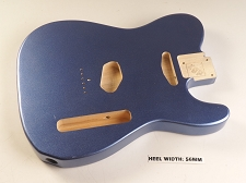 Blem - XGP Cobalt Blue Metallic Vintage Spec Single-Cutaway Body