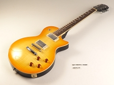 LUTHIER SPECIAL - PRO500 Carved TopFlamed Maple, Coil Tap Kwikplug Lemon Drop