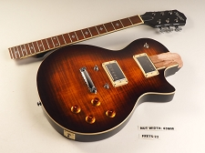 LUTHIER SPECIAL - PRO500 Carved Top Flamed Maple, Coil Tap Kwikplug TortoiseBurst